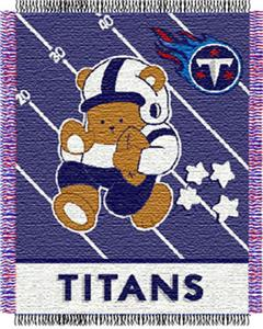 Northwest NFL Tennessee Titans Baby Throws