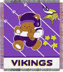 Northwest NFL Minnesota Vikings Baby Throws