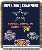 """Northwest NFL Dallas Cowboys 48""""x60"""" Throws"""
