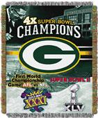 "Northwest NFL Green Bay Packers 48""x60"" Throws"