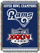 "Northwest NFL St. Louis Rams 48""x60"" Throws"