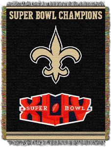 "Northwest NFL New Orleans Saints 48""x60"" Throws"