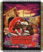 Northwest NFL Browns HFA Woven Tapestry Throw