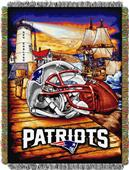 Northwest NFL Patriots HFA Woven Tapestry Throw