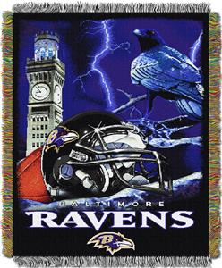 Northwest NFL Baltimore Ravens HFA Throws