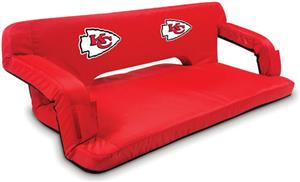 Picnic Time NFL Kansas City Chiefs Travel Couch