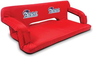 Picnic Time NFL New England Patriots Travel Couch