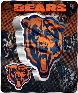 Northwest NFL Chicago Bears Grunge Throws