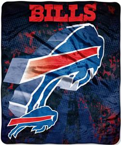 Northwest NFL Buffalo Bills Grunge Throws
