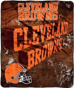 Northwest NFL Cleveland Browns Grunge Throws
