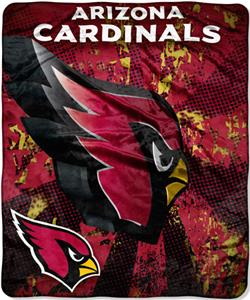 Northwest NFL Arizona Cardinals Grunge Throws