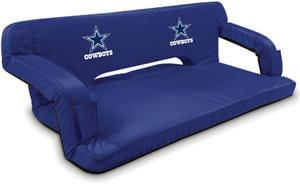 Picnic Time NFL Dallas Cowboys Travel Couch
