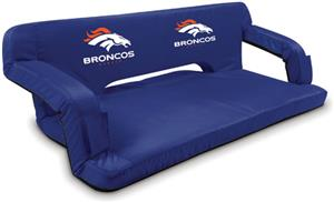 Picnic Time NFL Denver Broncos Travel Couch