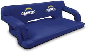 Picnic Time NFL San Diego Chargers Travel Couch