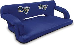 Picnic Time NFL St. Louis Rams Travel Couch