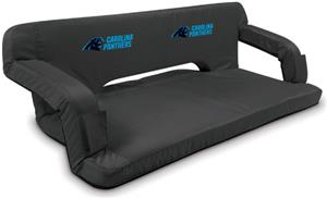Picnic Time NFL Carolina Panthers Travel Couch