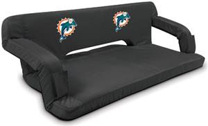Picnic Time NFL Miami Dolphins Travel Couch