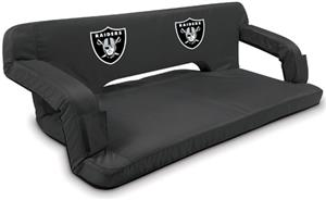 Picnic Time NFL Oakland Raiders Travel Couch
