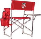 Picnic Time Wisconsin Badgers Folding Sport Chair