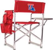Picnic Time Louisiana Tech Folding Sport Chair