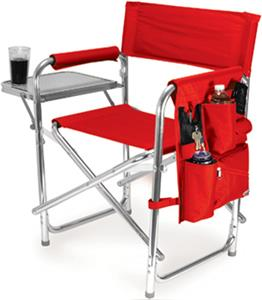 Picnic Time Louisiana Tech Folding Sport Chair