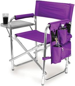 Picnic Time LSU Folding Sport Chair &amp; Strap
