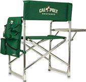 Picnic Time Cal Poly Folding Sport Chair & Strap