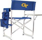 Picnic Time Georgia Tech Folding Sport Chair