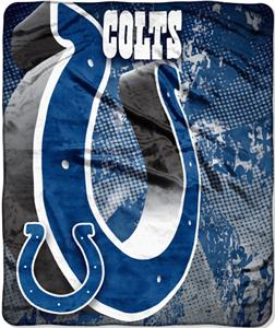 Northwest NFL Indianapolis Colts Grunge Throws