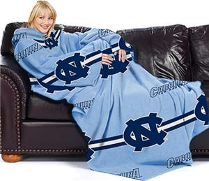 Northwest NCAA North Carolina Comfy Throw -Stripes