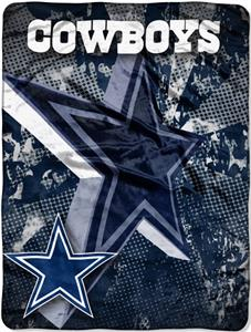 Northwest NFL Dallas Cowboys Grunge Throws