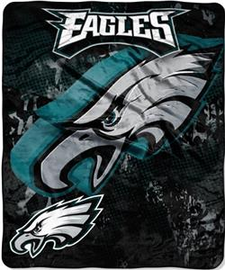 Northwest NFL Philadelphia Eagles Grunge Throws