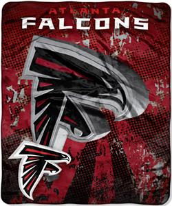 Northwest NFL Atlanta Falcons Grunge Throws