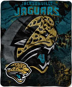 Northwest NFL Jacksonville Jaguars Grunge Throws