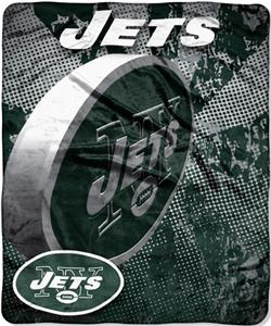 Northwest NFL New York Jets Grunge Throws