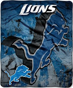 Northwest NFL Detroit Lions Grunge Throws