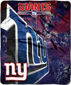 Northwest NFL New York Giants Grunge Throws