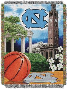 Northwest NCAA North Carolina HFA Tapestry Throw