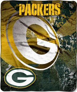 Northwest NFL Green Bay Packers Grunge Throws