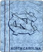 Northwest NCAA North Carolina Jersey Sherpa Throw