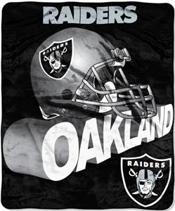 Northwest NFL Oakland Raiders Grunge Throws