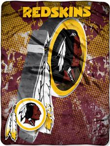 Northwest NFL Washington Redskins Grunge Throws
