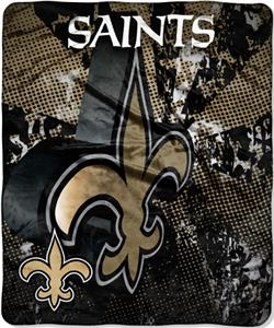 Northwest NFL New Orleans Saints Grunge Throws