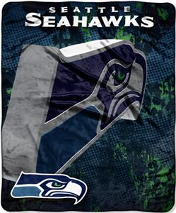 Northwest NFL Seattle Seahawks Grunge Throws