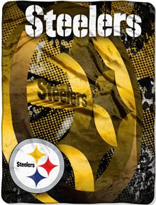 Northwest NFL Pittsburgh Steelers Grunge Throws