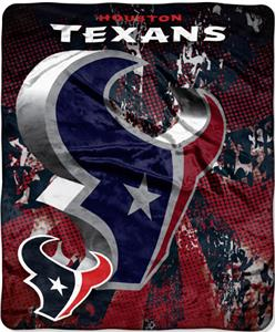 Northwest NFL Houston Texans Grunge Throws