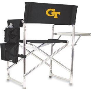Picnic Time Georgia Tech Folding Sport Chair