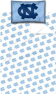 Northwest NCAA North Carolina Twin Sheet Set