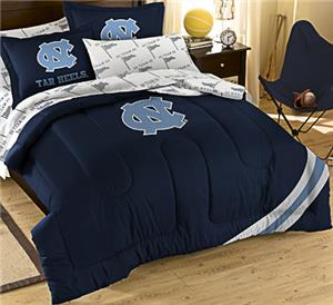 Northwest NCAA Nort Carolina Full Bed in Bag Set