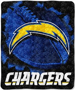 Northwest NFL San Diego Chargers Burst Throws